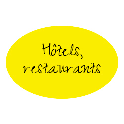 hotêls et restaurants