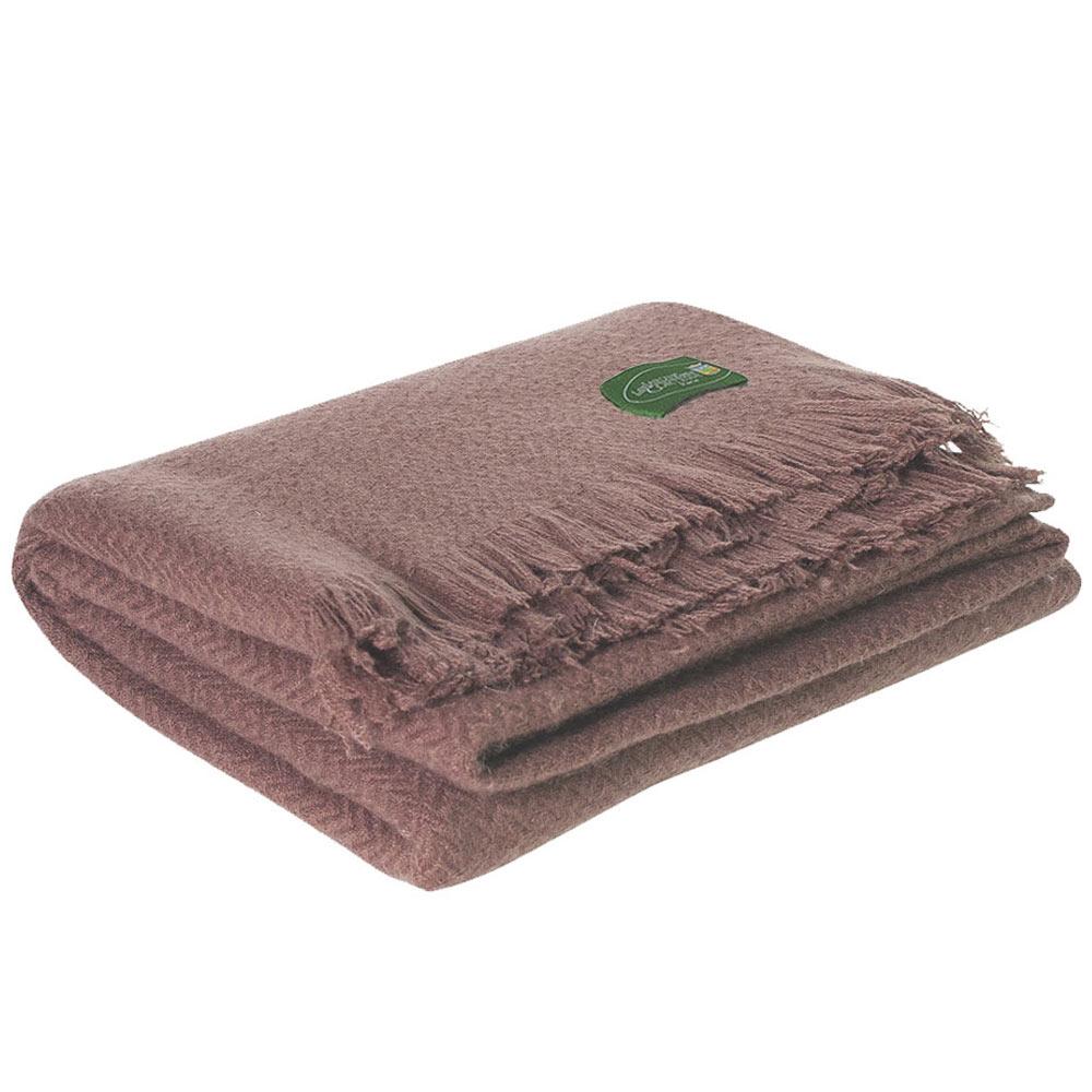 Plaid Léger   Plaid   étole cachemire et laine chevrons marron 9415a71ace4