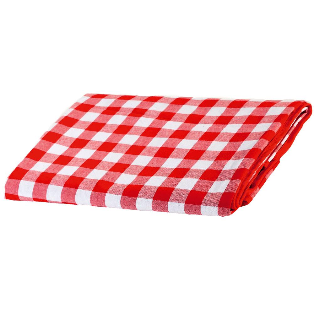 nappe pique nique carreaux rouge et blanc revers. Black Bedroom Furniture Sets. Home Design Ideas