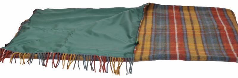 grand plaid pique nique voyage en pure laine vierge cossais de couleur automnale. Black Bedroom Furniture Sets. Home Design Ideas